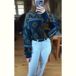 🌿 90's Vtg Oversized Cozy Boyfriend Sweater 🌿
